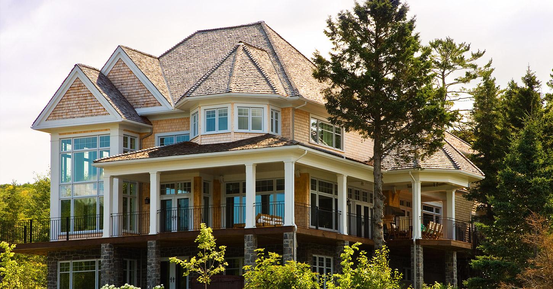 Rousseau construction maisons for Forme de maison